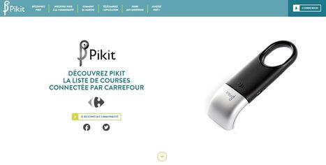Tendance: Carrefour se met aux courses connectées | Magasin digital et connecte | Scoop.it