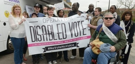 ELECTION 2015: Bus tour highlights disabled people's voting power | Welfare, Disability, Politics and People's Right's | Scoop.it