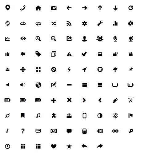 [Webdesign] Typicons, une webfont de mini-icônes pour vos sites - Websourcing.fr | Infographie+Web = Webdesign | Scoop.it