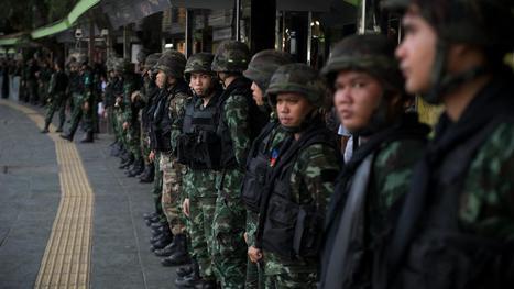 Leger Thailand paraat om protesten Bangkok te voorkomen | Op reis naar Bangkok | Scoop.it