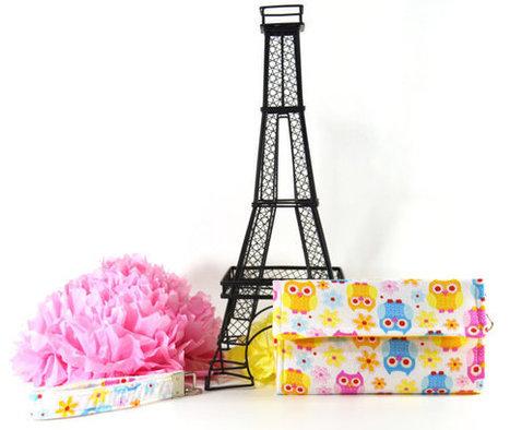 Stylish Wallets, Women's Wallets, Female Wallets, Trifold Wallets, Ladies Wallets, Fabric Wallet Owls, Wristlet Purse, Clutch Wallets | Tramp Lee Designs Bags | Scoop.it