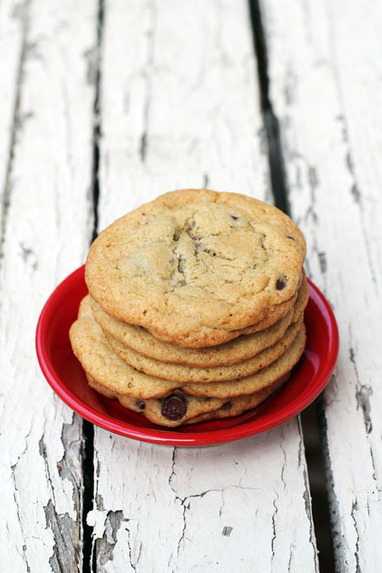 Alice's Perfect Chocolate Chip Cookies - This Week for Dinner | Just Chocolate!!! | Scoop.it