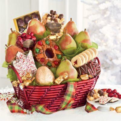 Mistletoe Christmas Gift Basket | Christmas Goodies | Scoop.it