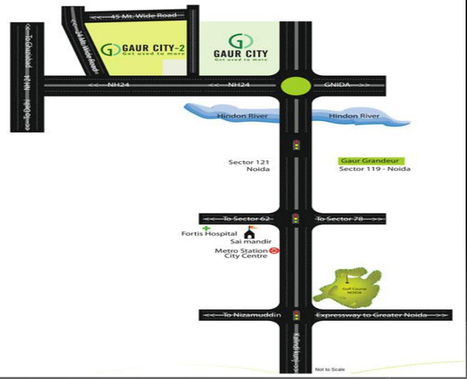 Gaur City Galleria | Commercial Projects In Noida Extension | Property in Noida | Scoop.it