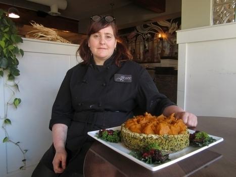 Graze chef makes a vegan pie crust with winter veggies | My Vegan recipes | Scoop.it
