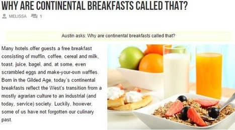 Northwich Bed and Breakfast Hotels: Continental Breakfast's Evolution | Happy Guests Lodge | Scoop.it