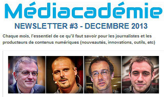 Médiacadémie - Newsletter #3 | DocPresseESJ | Scoop.it