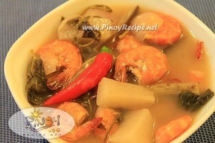 Sinigang na Hipon Recipe (Pinoy Style Shrimp in Sour Soup) | Delicious Filipino Foods | Scoop.it