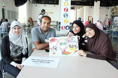 MIE9 Teams unleash their creative side | MIE9 Training - Held at ITI, Smart Village Giza during April 2014. | Scoop.it