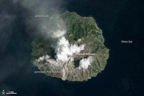 Satellite spots Indonesia volcano's eruption - NBCNews.com (blog) | Learning about Geology | Scoop.it