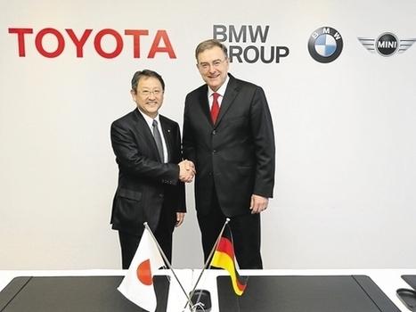 BMW et Toyota signent un partenariat technologique | Logistique et Transport GLT | Scoop.it