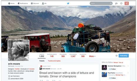Comment activer votre nouveau profil sur Twitter | Libertés Numériques | Scoop.it