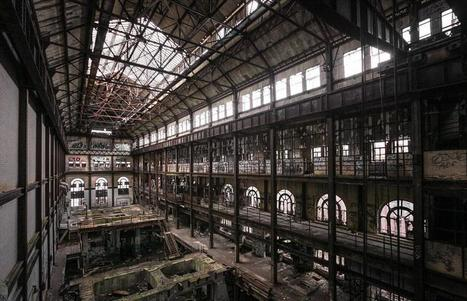 Inside the Gates of Hell. Abandoned New York power station now used for zombi... | Rebrn.com | Modern Ruins | Scoop.it