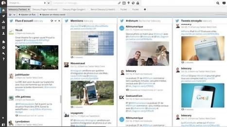 [Outils] Nouvelle interface pour la version Web de Hootsuite   Social Media Curation par Mon Habitat Web   Scoop.it