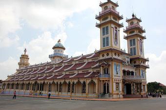 El Templo Cao Dai de Tay Ninh - Vietnamitas en Madrid   Vietnam   Scoop.it