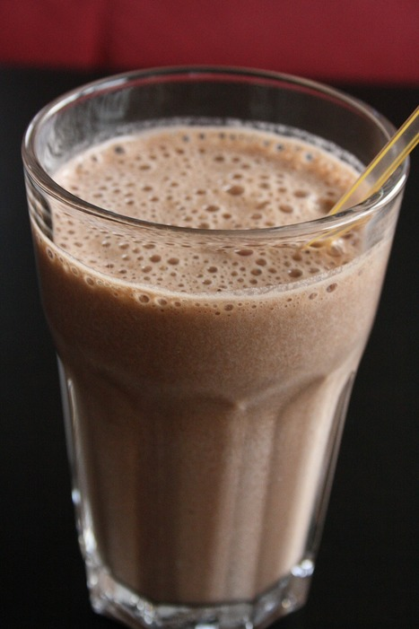 Recette de lait glacé au chocolat au riz croustillant | boissons de rue, cocktail, smoothies santé, Boissons fraîches et chaudes du monde, | Scoop.it