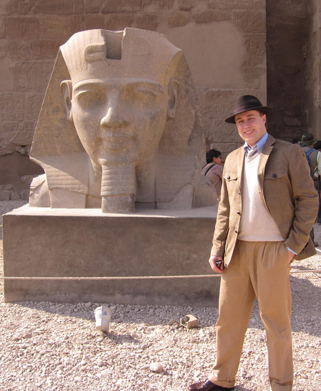 Rutgers Law Student's Indiana Jones Aspirations Fueled by Childhood ... - News from Rutgers | archaeology | Scoop.it