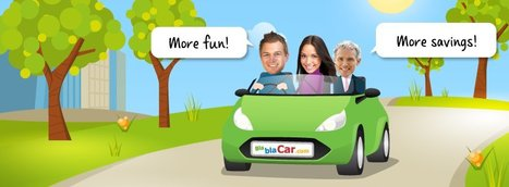 BlablaCar.com carpooling - The UK rideshare site   Car Sharing   Scoop.it