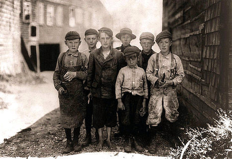 The History Place - Child Labor in America: Investigative Photos of Lewis Hine | Merveilles - Marvels | Scoop.it