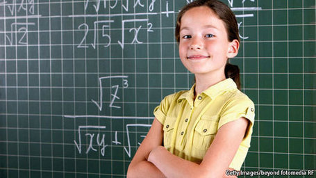 Cleverer still - Geniuses are getting brighter. Girls are not as far behind boys as they used to be | Amazing Science | Scoop.it