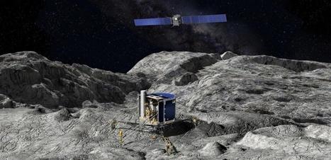 Philae a-t-il envoyé ses vœux à Rosetta ?   Echos de sciences   Scoop.it