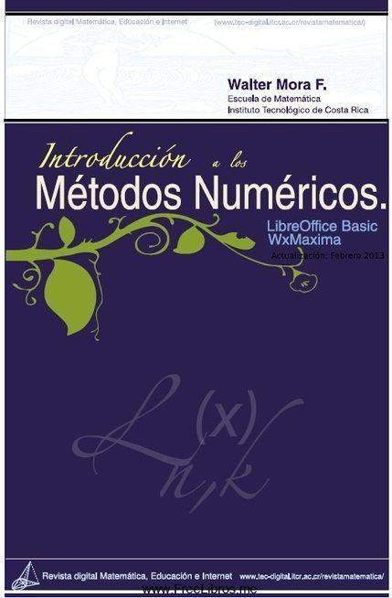 Introducción a los métodos numéricos – Walter Mora F. | metodos numericos | Scoop.it