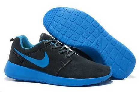 Nike Roshe Run Suede UK - Womens Black DoderBlue | Nike Roshe Flyknit | Scoop.it