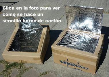Hornos solares con cajas de cartón | Embalaje en general | Scoop.it