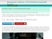 Download In Bloom – High Definition | Download In Bloom Movie - Watch Online | Scoop.it