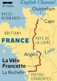 France's newest cycling route: La Vélo Francette - Europe - Travel - The ... - The Independent | vélo, bike, tourisme à vélo | Scoop.it