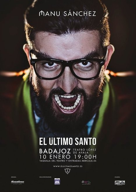 El humorista Manu Sánchez  se convierte en El último santo | El Último Santo | Scoop.it