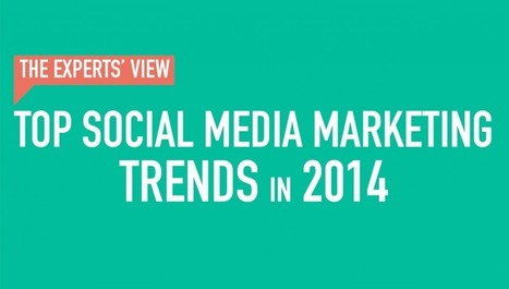 13 Social Media Marketing Trends in 2014 from the Experts - Business 2 Community | Online Marketing | Scoop.it