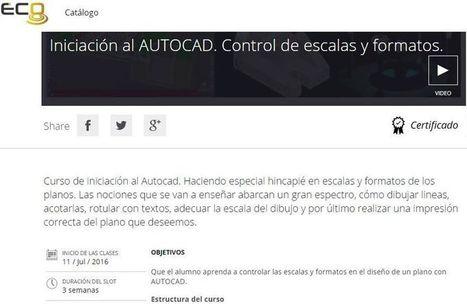 Curso de AutoCAD para seguir online y gratis   Educativas   Scoop.it