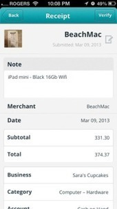 Free Online Small Biz Accounting Wave Adds Receipts App For iOS And Android   Emma's CanPR Project   Scoop.it