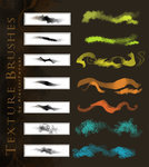 Texture Brushes by *AlectorFencer on deviantART | Crazy 4 Photoshop | Scoop.it