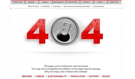 How to Help Ecommerce Visitors Recover With 404 Page Design | MarketingHits | Scoop.it