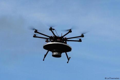 Guilliers Vidéo. Unique en Bretagne.Un drone largue des mouches russes pour vaincre la pyrale | Chimie verte et agroécologie | Scoop.it