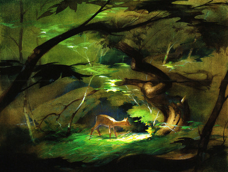 The Pastel Illustrations of Tyrus Wong That Would Inspire the Movie 'Bambi' | Machinimania | Scoop.it