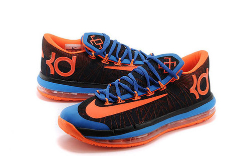 Nike Zoom KD VI 6 Elite Black/Blue-Orange Colorway Sport Shoes - Men Size | fashion list | Scoop.it