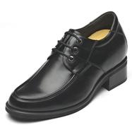 Black / Brown Men Elevator Dress Shoes extra tall 9cm / 3.54inch | Elevator shoes for men | Scoop.it