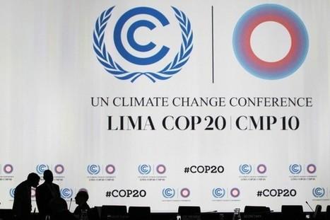 Climat: espoir d'arracher un compromis à Lima | Céline SERRAT | Changements climatiques | Qualité de l'air | Scoop.it