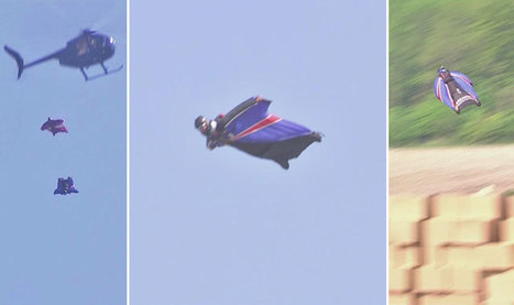Skydiver Becomes First To Land Without Chute | CarpeDiem | Scoop.it