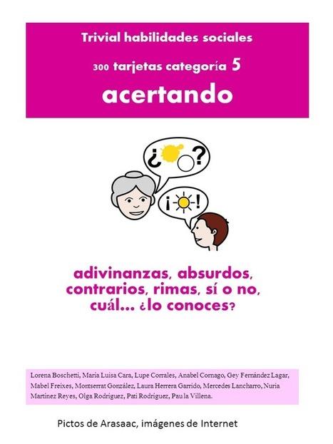 TRIVIAL de Habilidades Sociales: Adivinanzas, absurdos, contrarios, ...   #TuitOrienta   Scoop.it