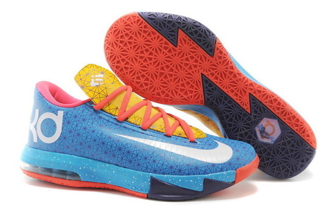 Cheap KD 6 Valentine Blue Orange Red Yellow - Cheap Lebrons,Cheap Lebron 11,Cheap Nike Lebrons,Nike Lebron 11 For Cheap Sale! | cheap kd 6,cheap nike kd vi shoes release on www.cheapestlebrons.com | Scoop.it
