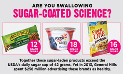 Sugar-Coated Science: Food Industry Uses Deceptive Marketing to Hide Added Sugar | EcoWatch | Scoop.it