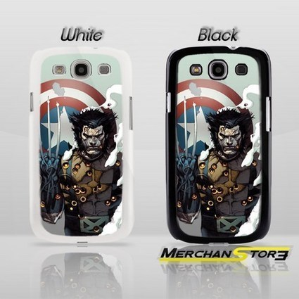 Wolverine Captain America Sheild Samsung Galaxy S3 Case | Samsung Galaxy S3 Case | Scoop.it