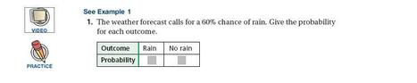 Holt Mathematics Course 3 Chapter 10 Lesson 1 | PROBABILITY --- 4TH ESO | Scoop.it