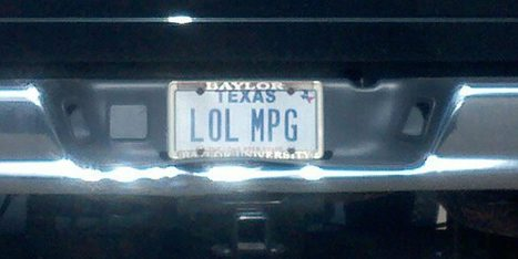 22 Vanity Plates That Will Make You Shake Your Head | Strange days indeed... | Scoop.it