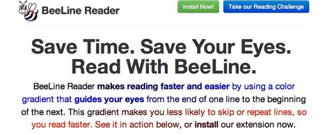 BeeLine Reader :: Read Faster on Mobile Devices and Computers | Share Some Love Today | Scoop.it