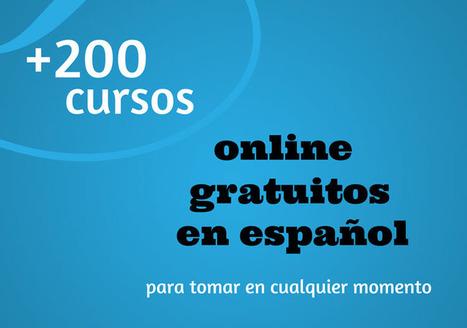 Cursos gratuitos en español | desdeelpasillo | Scoop.it